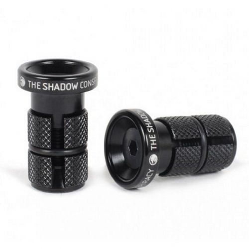 Shadow Slim Deadbolt Bar Ends - Black